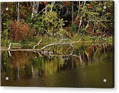 Rogue River Reflections Acrylic Print