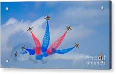 Rokaf Aerobatic Team Acrylic Print