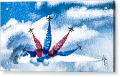 Rokaf Oil Painting Acrylic Print