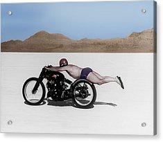 Roland Rollie Free Acrylic Print by Mark Rogan