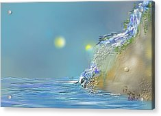 Roll Down Water Roll Acrylic Print by Greg Stew