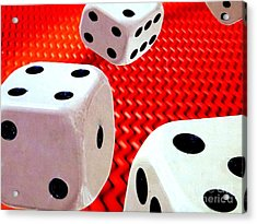 Roll Of The Dice Acrylic Print