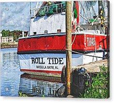 Roll Tide Stern Acrylic Print