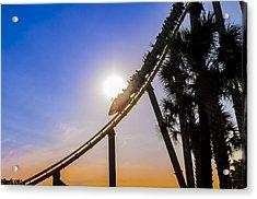 Roller Coaster Acrylic Print
