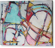 Roller Coaster Of Reincarnation Acrylic Print by Hari Thomas