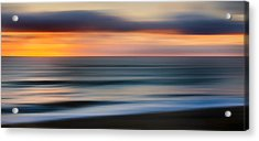 Rollers Acrylic Print by Bill Wakeley