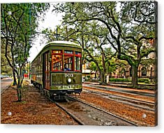 Rollin' Thru New Orleans Acrylic Print by Steve Harrington