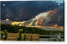 Storm Clouds Rolling In Acrylic Print