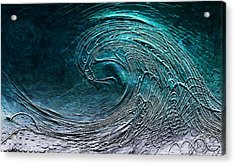 Rolling In The Deep Acrylic Print by Barbara Chichester