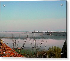 Rolling Mist Acrylic Print by Dorothy Berry-Lound