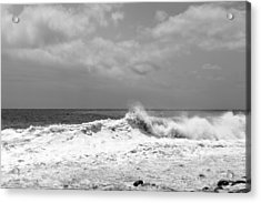 Rolling Surf  Acrylic Print