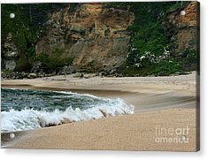 Rolling Waves Acrylic Print