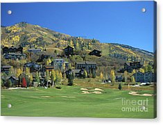 Rollingstone Ranch Acrylic Print by Chris Selby