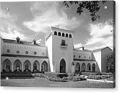 Rollins College Olin Library Acrylic Print by University Icons
