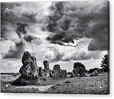 Rollright Stones Acrylic Print