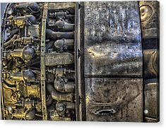 Rolls-royce Dart Turboprop Detail Acrylic Print by Lynn Palmer