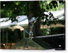 Rolls Royce Acrylic Print by Leena Pekkalainen