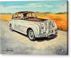 Rolls Royce Silver Cloud Acrylic Print