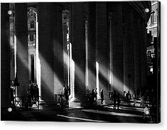 Roma - Piazza San Pietro, Citta? Del Vaticano Acrylic Print