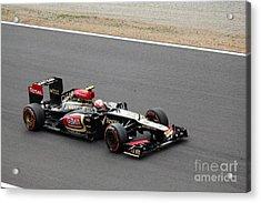 Romain Grosjean Acrylic Print