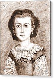 Romaine Lascaux Acrylic Print by Phil Clark
