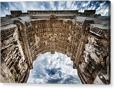 Acrylic Print featuring the photograph Roman Arch by Ryan Wyckoff