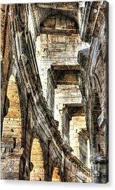Roman Arena At Arles 3 Acrylic Print