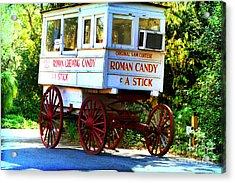 Roman Candy Acrylic Print by Scott Pellegrin