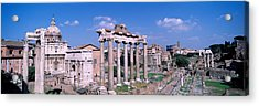 Roman Forum, Rome, Italy Acrylic Print by Panoramic Images