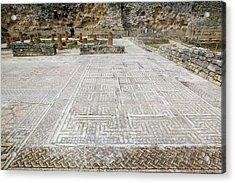 Roman Mosaic Floors Acrylic Print