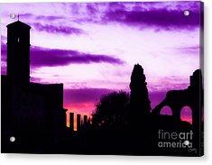 Roman Sunrise Acrylic Print