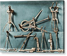 Acrylic Print featuring the photograph Roman Surgical Instruments, 1st Century by Science Source
