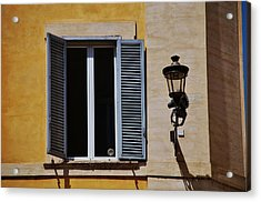 Roman Window Acrylic Print by Dany Lison