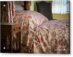 Romantic Bedroom Acrylic Print by Edward Fielding