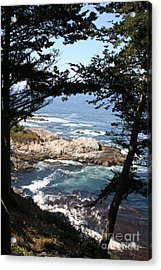 Romantic California Coast Acrylic Print