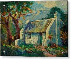 Romantic Cape Cottage Acrylic Print