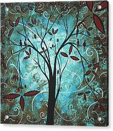 Romantic Evening By Madart Acrylic Print