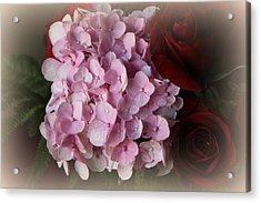 Acrylic Print featuring the photograph Romantic Floral Fantasy Bouquet by Kay Novy