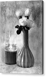 Romantic Light Acrylic Print by Betty LaRue