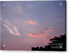 Romantic Sky Acrylic Print
