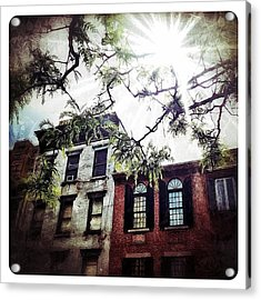 Romantic West Village Acrylic Print