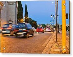 Rome At Night Acrylic Print