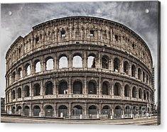 Rome Colosseum 02 Acrylic Print