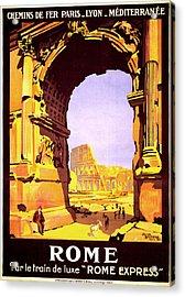 Rome Express Acrylic Print