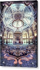 Rome Great Mosque Acrylic Print