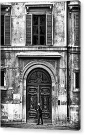 Rome Acrylic Print by John Rizzuto