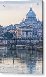 Rome Saint Peters Basilica 02 Acrylic Print