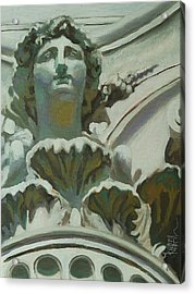 Rome Statue Acrylic Print by Khairzul MG