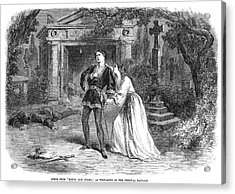 Romeo And Juliet, 1864 Acrylic Print by Granger