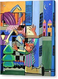 Romeo And Juliet Acrylic Print by Anthony Falbo